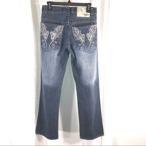 South Pole Premium Jeans Embroidered, Size 29